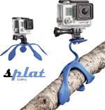 Trépied spécial splat SPGOPBL40 1/4 pouce Hauteur de travail=1 - 7 cm bleu