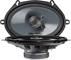 2cestný koaxiální vestavný reproduktor Mac Audio Mac Mobil Street 57.2, 200 W