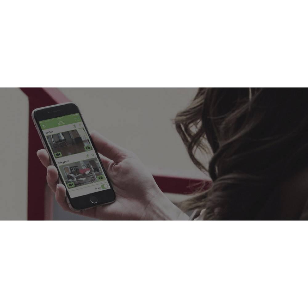 wlan ip berwachungskamera set 10 kanal mit 1 kamera 1280 x 720 pixel blink sync hd im conrad. Black Bedroom Furniture Sets. Home Design Ideas