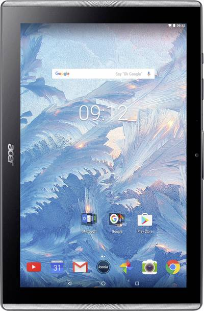 Acer ICONIA ONE 10 B3-A40 schwarz Iconia One 10 Tablet Android 25.7 cm (10.1 pollici) 16 GB Nero 1.7 GHz Octa Core Andr