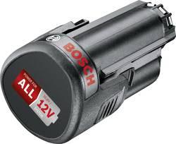 Náhradný akumulátor pre elektrické náradie, Bosch Home and Garden PBA 12 V 2.5 Ah 1600A00H3D, 12 V, 2.5 Ah, Li-Ion akumulátor