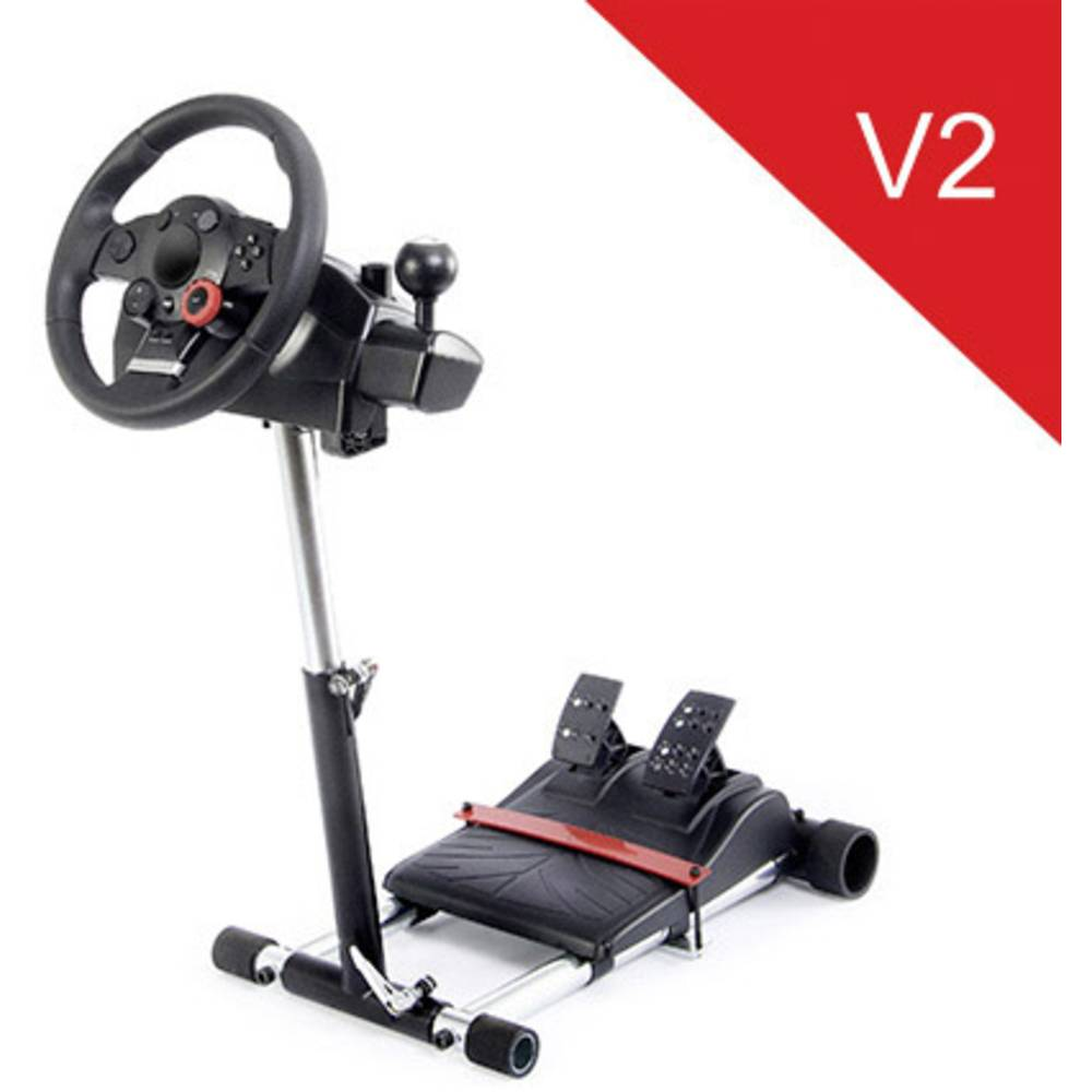 Wheel Stand Pro Driving Force GT/PRO/EX/FX Deluxe V2 Fäste för ratt Svart