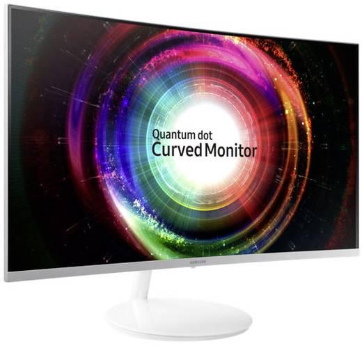 LED-Monitor 81.3 cm (32 Zoll) Samsung C32H711Q EEK B 2560 x 1440 Pixel WQHD 4 ms HDMI™, DisplayPort VA LED