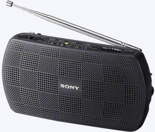 Sony SRF-18 UKW Taschenradio AUX, UKW Schwarz