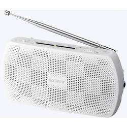 FM kapesní rádio Sony SRF-18, AUX, FM, bílá