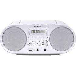 N/A Sony ZS-PS50, AUX, CD, USB, biela