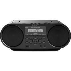 FM rádio s CD prehrávačom Sony ZS-RS60BT, AUX, Bluetooth, CD, UKW, USB, čierna