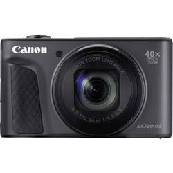 Digitálny fotoaparát Canon SX730HS, 20 Megapixel, Zoom (optický): 40 x, čierna