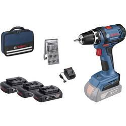 Aku vŕtací skrutkovač Bosch Professional GSR 18-2-LI 0615990J50, 18 V, 1.5 Ah, Li-Ion akumulátor