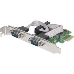 PCIe sériová zásuvná karta Manhattan 152082, 2 porty