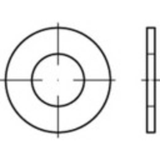 Unterlegscheiben Innen-Durchmesser: 5.3 mm Stahl galvanisch verzinkt 200 St. TOOLCRAFT 159249