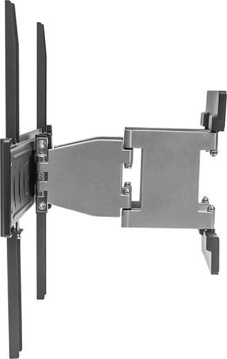 tv wandhalterung 81 3 cm 32 139 7 cm 55 neigbar schwenkbar manhattan aluminium tv. Black Bedroom Furniture Sets. Home Design Ideas