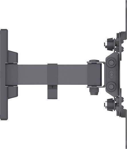 Manhattan tv wandhalterung ein schwenkarm f r bildschirme von 13 42 und 20kg schwarz monitor - Wandhalterung tv und receiver ...