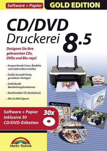markt technik cd dvd druckerei 8 5 mit papier. Black Bedroom Furniture Sets. Home Design Ideas