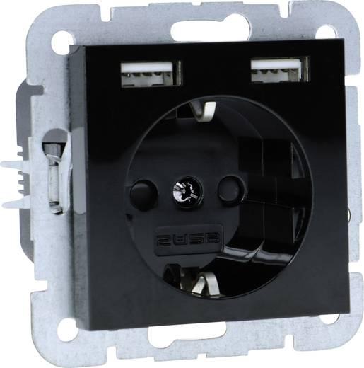 2USB 1592659 1fach Unterputz-Steckdose mit USB, Kinderschutz IP20 ...