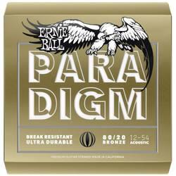 Struny pre westernovú gitaru Ernie Ball 2086 Paradigm 80/20 Bronze Medium Light 012-054