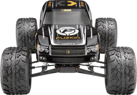 HPI Racing Jumpshot Flux Fuzion Brushless RC Modellauto Elektro Monstertruck Heckantrieb RtR 2,4 GHz Inkl. Akku und Lad