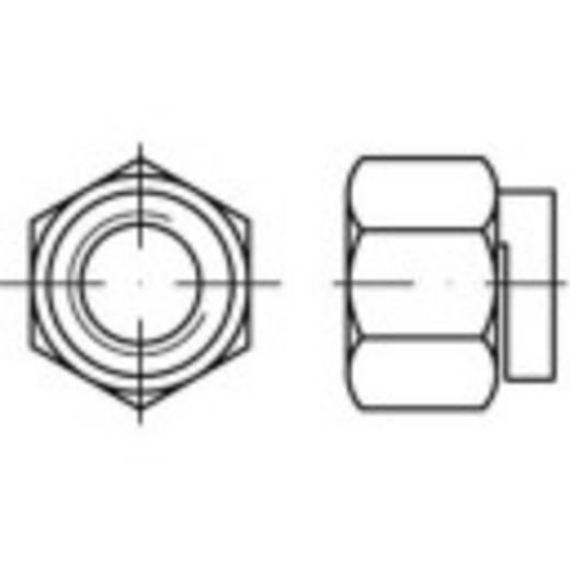 Sicherungsmuttern M8 Stahl galvanisch verkupfert 100 St. TOOLCRAFT 159289