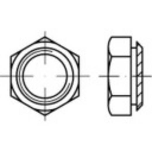 Setzmuttern M10 Stahl galvanisch verzinkt 100 St. TOOLCRAFT 159303