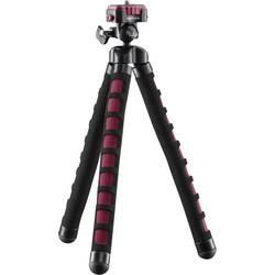 """Foto statív Mantona Flex, 1/4"""", min./max.výška 10 - 27 cm, červená"""