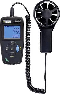 Anemometr Chauvin Arnoux C.A 1227 0.25 až 35.0 m/s, kalibrace dle podnikového standardu (bez certifikátu)