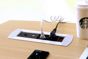 Einbau Steckdose mit USB-Anschluss
