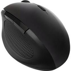 Optická bezdrôtová myš LogiLink ID0139 ID0139, ergonomická, čierna