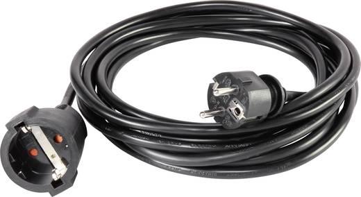 Basetech 1593782 Strom Verlangerungskabel 16 A Schwarz 5 M Kaufen