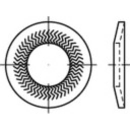 Sperrkantscheiben Innen-Durchmesser: 16 mm Federstahl verzinkt 100 St. 159419
