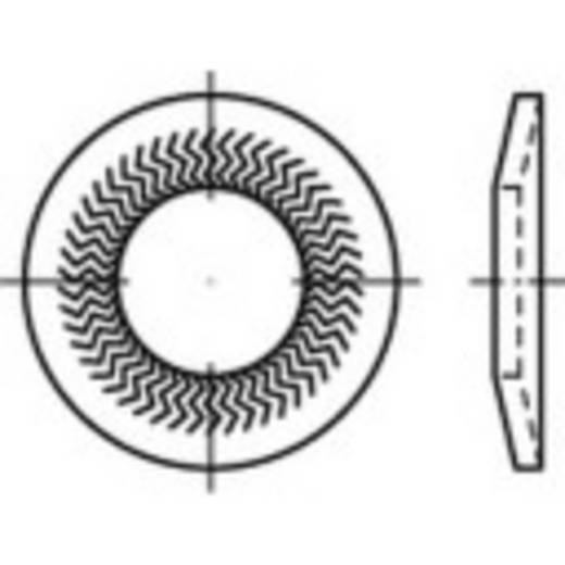 Sperrkantscheiben Innen-Durchmesser: 8 mm Federstahl verzinkt 250 St. 159408