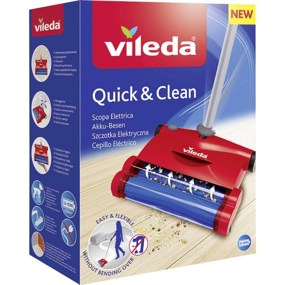 Scopa elettrica vileda quick clean in vendita online for Vileda scopa elettrica ricambi