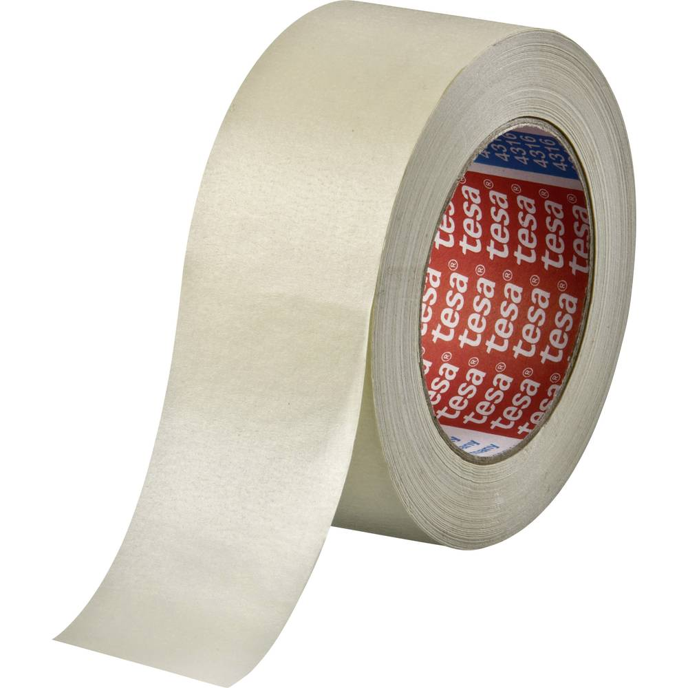 Masking tape tesakrepp® 4316 (L x W) 50 m x 50 mm tesa from Conrad ...