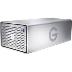 Externý systém s viac diskami G-Technology G-Raid Removable, 12 TB, Thunderbolt 3, USB-C ™ USB 3.1, HDMI ™, strieborná