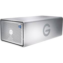 Externý systém s viac diskami G-Technology G-Raid Removable, 8 TB, Thunderbolt 3, USB-C ™ USB 3.1, HDMI ™, strieborná