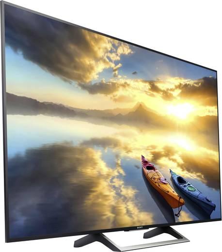 LED-TV 108 cm 43 Zoll Sony BRAVIA KD43XE7005 EEK A DVB-T2, DVB-C, DVB-S, UHD, Smart TV, WLAN, PVR ready, CI+ Schwarz