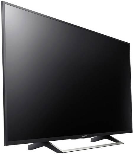 Sony BRAVIA KD43XE7005 LED-TV 108 cm 43 Zoll EEK A DVB-T2, DVB-C, DVB-S, UHD, Smart TV, WLAN, PVR ready, CI+ Schwarz