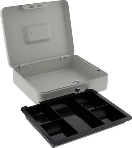 geldkassette burg w chter 10710 b x h x t 300 x 240 x 90 mm grau. Black Bedroom Furniture Sets. Home Design Ideas