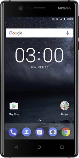 nokia 3 lte dual sim smartphone 12 7 cm 5 zoll 1 3 ghz. Black Bedroom Furniture Sets. Home Design Ideas