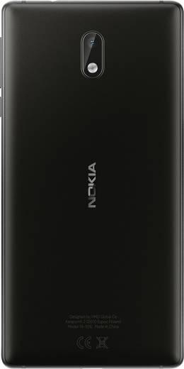 Nokia 3 LTE-Dual-SIM Smartphone 12.7 cm (5 Zoll) 1.3 GHz Quad Core 16 GB 8 Mio. Pixel Android™ 7.0 Nougat Schwarz