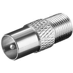 F-Adapter: F-Buchse - Koax-Stecker