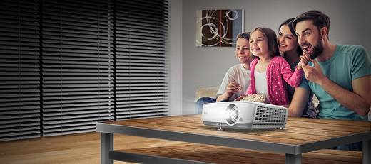 BenQ Beamer W1050 DLP Helligkeit: 2200 lm 1920 x 1080 HDTV 15.000 : 1 Weiß