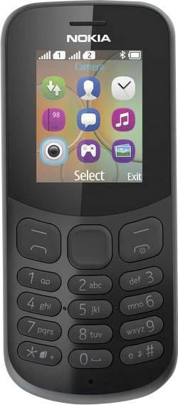 Nokia 130 mobilní telefon Dual SIM černá
