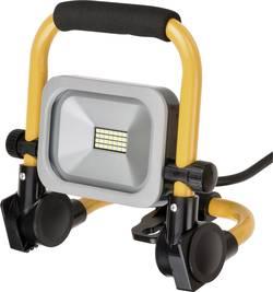 LED stavební reflektor Brennenstuhl Mobiler Slim LED-Strahler 1172900102, 10 W, černožlutá