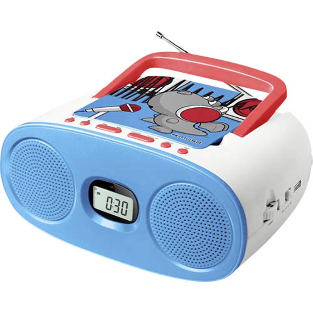 lecteur cd pour enfants muse m 23 kdb aux cd usb bleu sur le site internet conrad 1595805. Black Bedroom Furniture Sets. Home Design Ideas