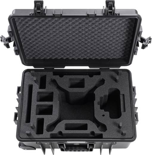 b w international typ 6700 outdoor koffer passend f r dji phantom 4 pro dji. Black Bedroom Furniture Sets. Home Design Ideas