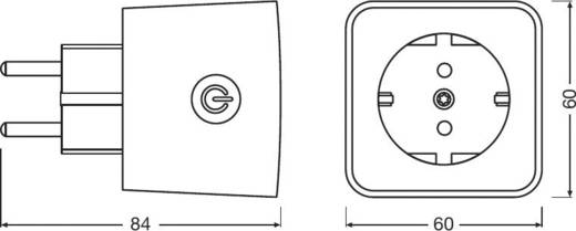 OSRAM Smart+ Zwischensteckdose 3er Set