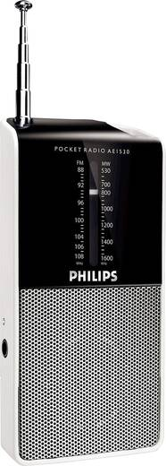 UKW Kofferradio Philips AE1530 MW, UKW Silber