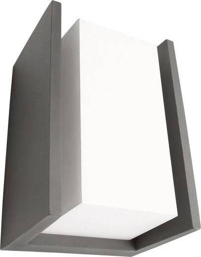 au enwandleuchte led e27 15 w philips bridge 163519316 anthrazit. Black Bedroom Furniture Sets. Home Design Ideas