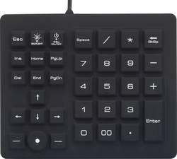 Vodotěsná USB numerická klávesnice Renkforce RF-4791687, černá