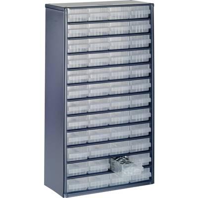 raaco 1248-01 Schubladenschrank (L x B x H) 306 x 150 x 552 mm Anzahl Fächer: 48 Preisvergleich